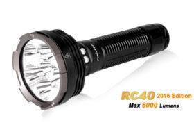 Fenix RC40, max. 6000 lumen oplaadbaar