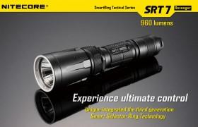 NiteCore SRT7, max. 960 lumen (ZWART)