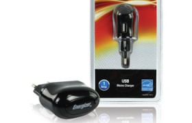 Energizer, USB adapter 1x USB uitgang 1A