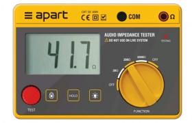 APart IMPMET impedantie meter