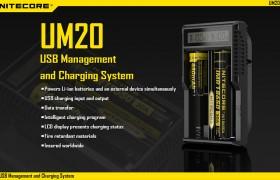 NiteCore UM20, USB lader