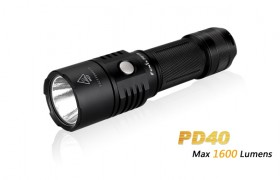 Fenix PD40, max. 1600 lumen