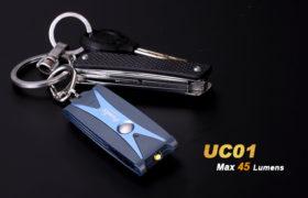 Fenix UC01 sleutelhangerzaklamp, blue