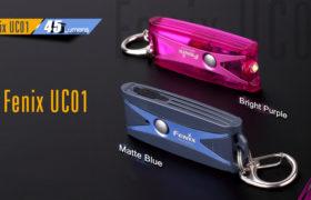 Fenix UC01 sleutelhangerzaklamp, purple