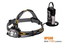 Fenix HP30R oplaadbare hoofdlamp, zwart