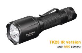 Fenix TK25 IR infrarood zaklamp met wit
