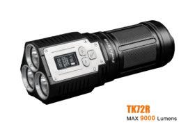 Fenix TK72R oplaadb. zaklamp, 9000 lumen