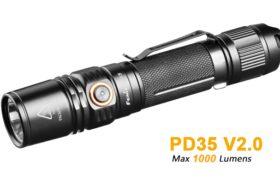 Fenix PD35 V2.0, 1000 lumen