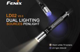 Fenix LD02 V2.0 LED-zaklampje + UV