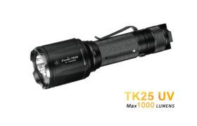 Fenix TK25 UV UltraViolet zaklamp met wit