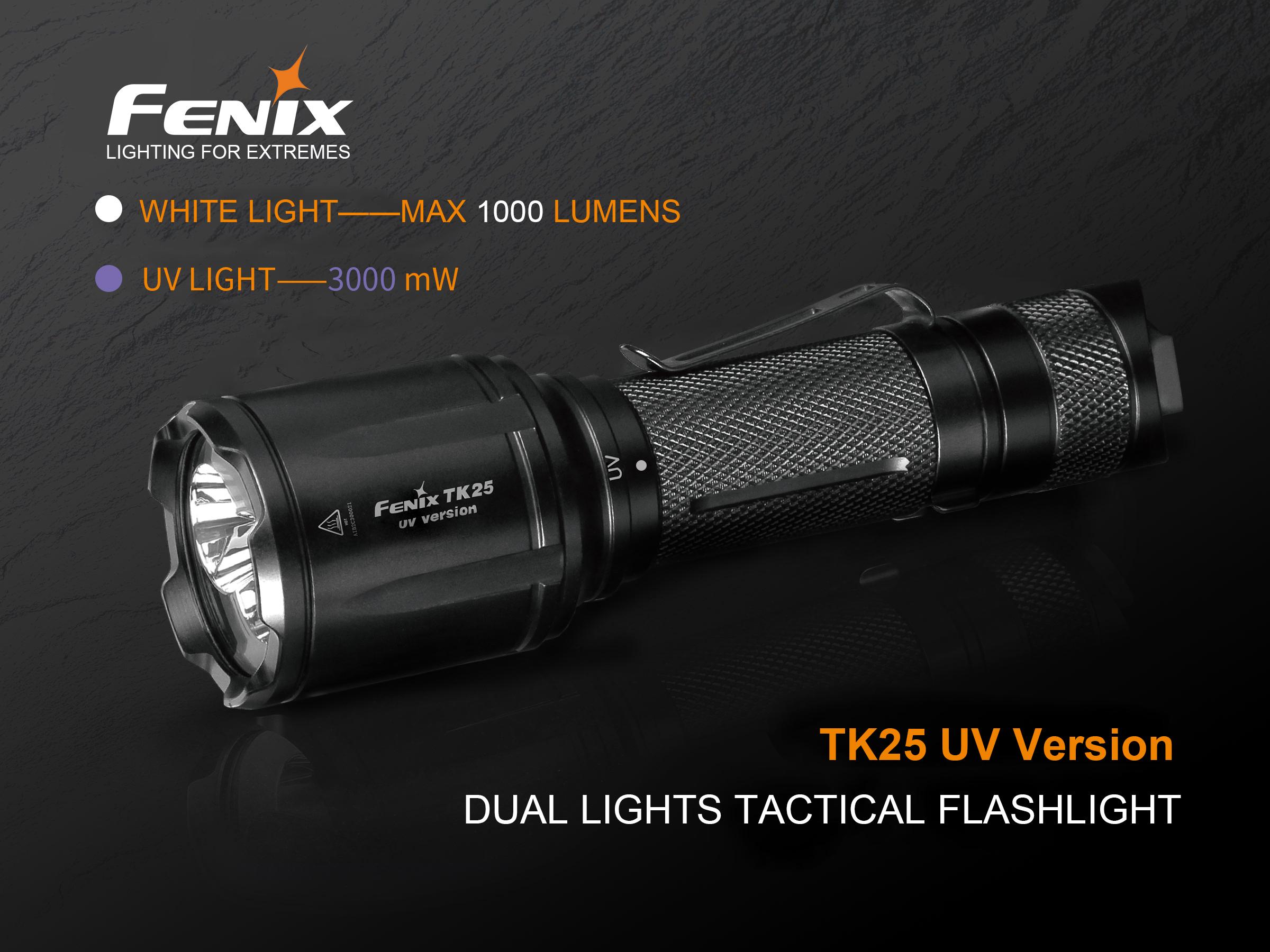 Uv Licht Kopen : Fenix tk25 uv ultra violet zaklamp met wit kopen? avtools