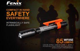 Fenix WF05E ATEX zaklamp, 85 lumen