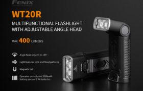 Fenix WT20R zaklamp, 400 lumen